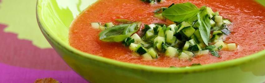 Gazpacho - kold tomatsuppe