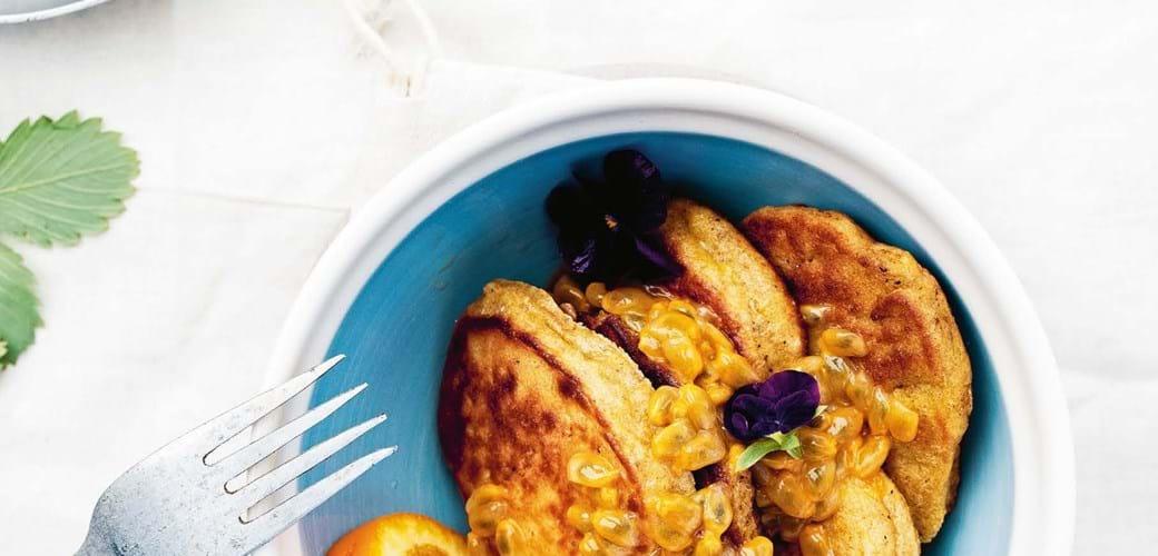 Mandel-banan-pandekager
