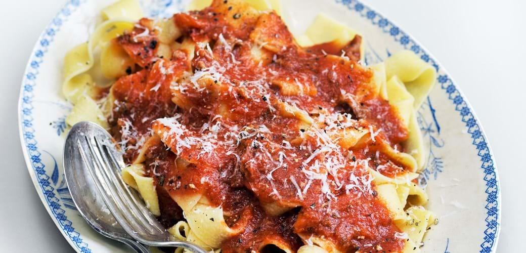 Kødsauce som i Italien