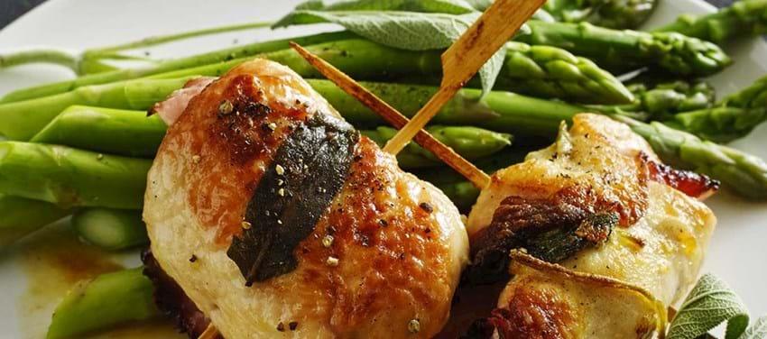 Kylling saltimbocca