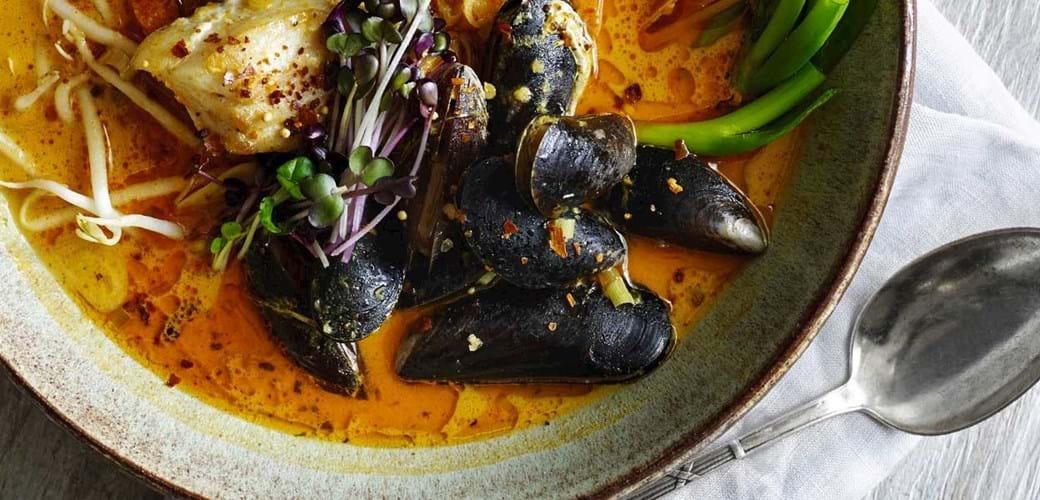 Thai fiskebouillabaise