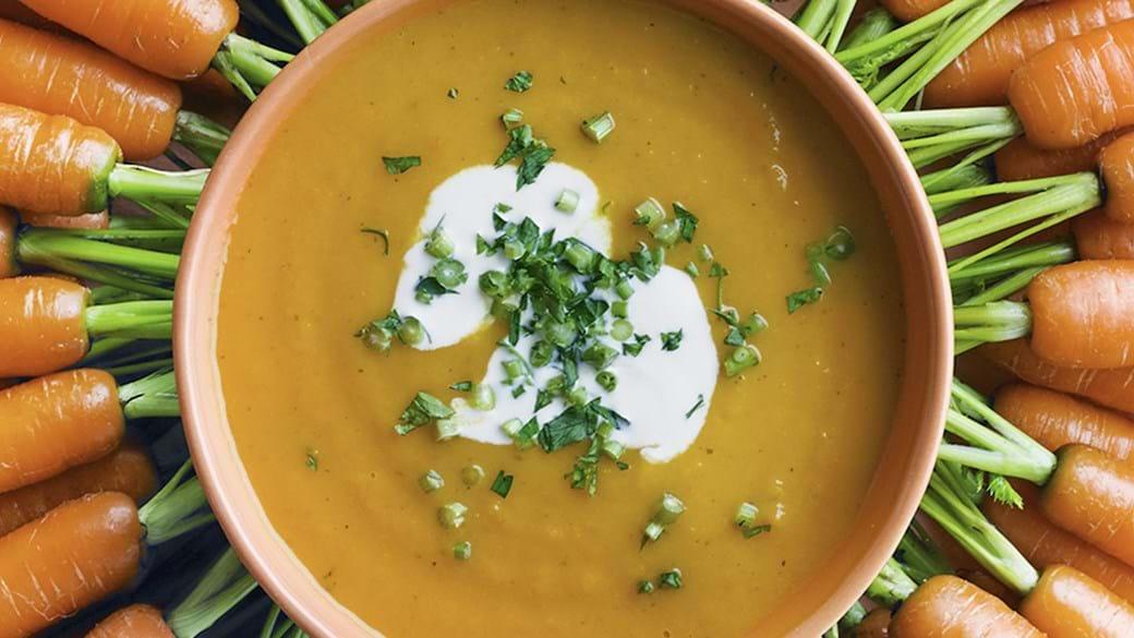 Gulerodssuppe med masser af smag