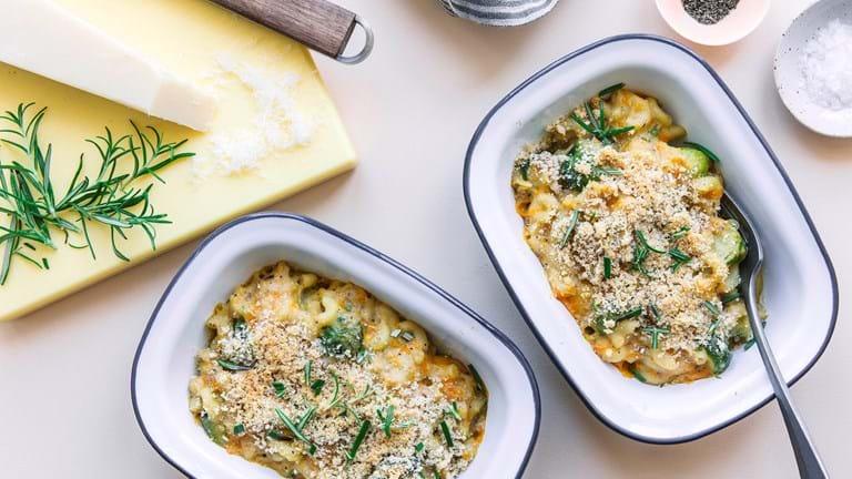 Mac and Cheese med rosenkål