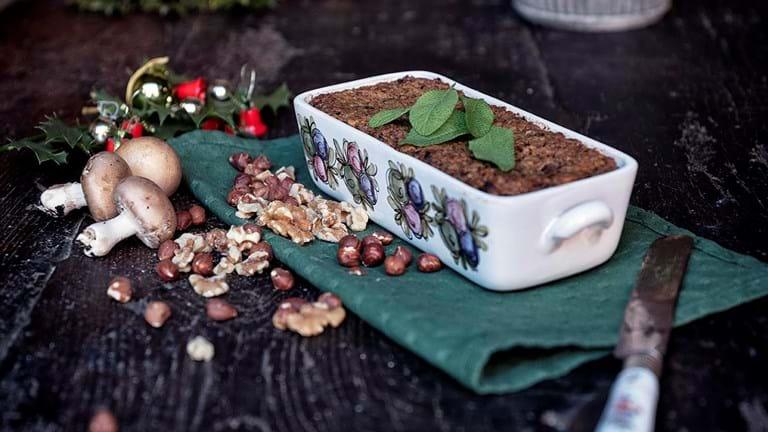 Vegansk mad: Nøddepostej med sødkartoffel