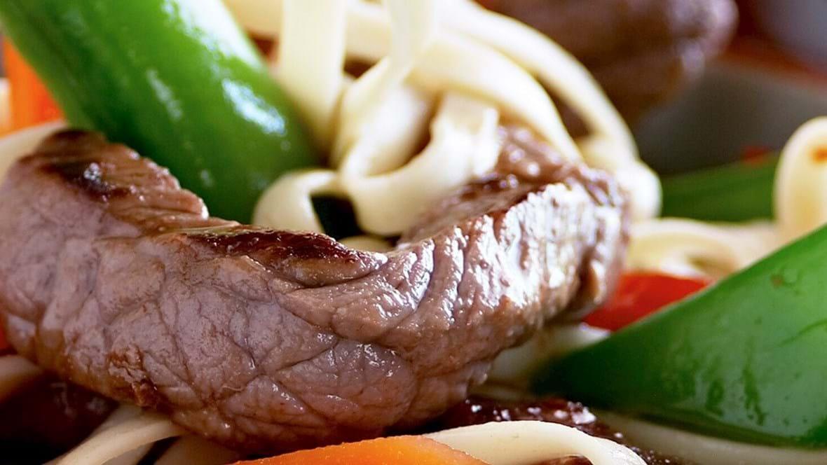 Sweet and sour wok med svinekød
