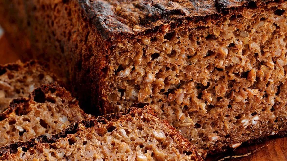Rugbrød med kerner, 2 stk