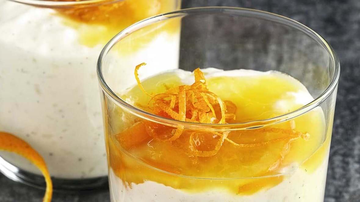 Risalamande med orangesauce