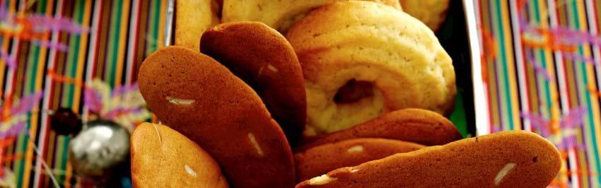 Vaniljekranse og brunkager