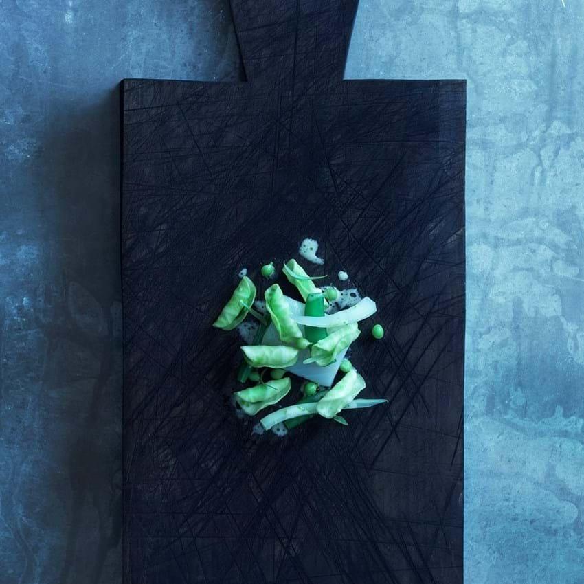Bagt torsk med spidskål og estragon