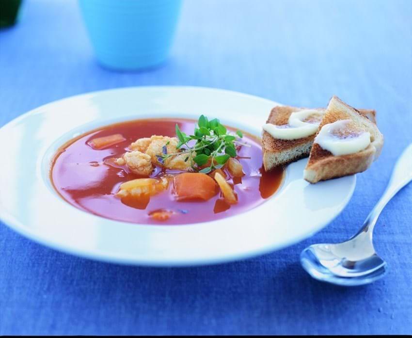 Fiskesuppe med safran