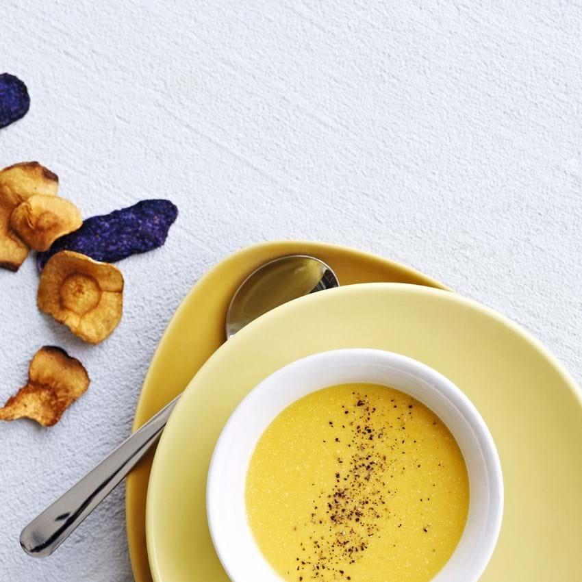 Cremet grøntsagssuppe med cashew