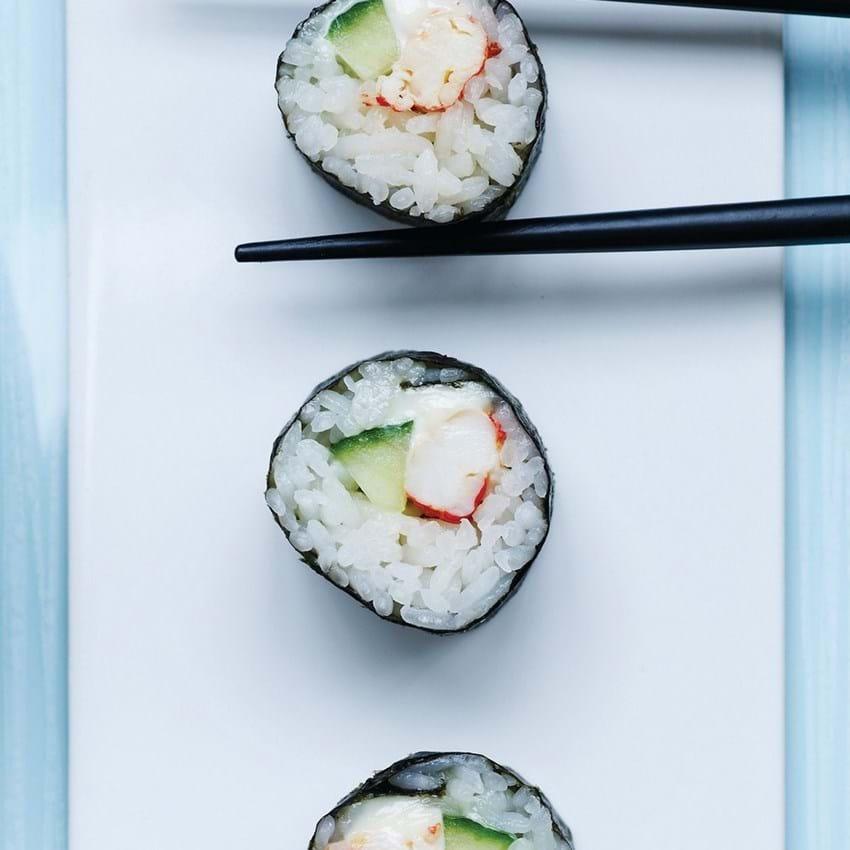 Sushi med hummer - opskrift
