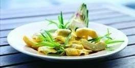 Ravioloni med ricotta og spinat