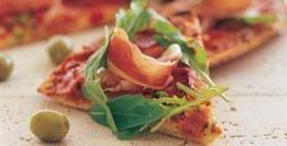 Pizza Prosciutto med et ekstra pift