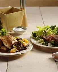 Salat med feta og andelår