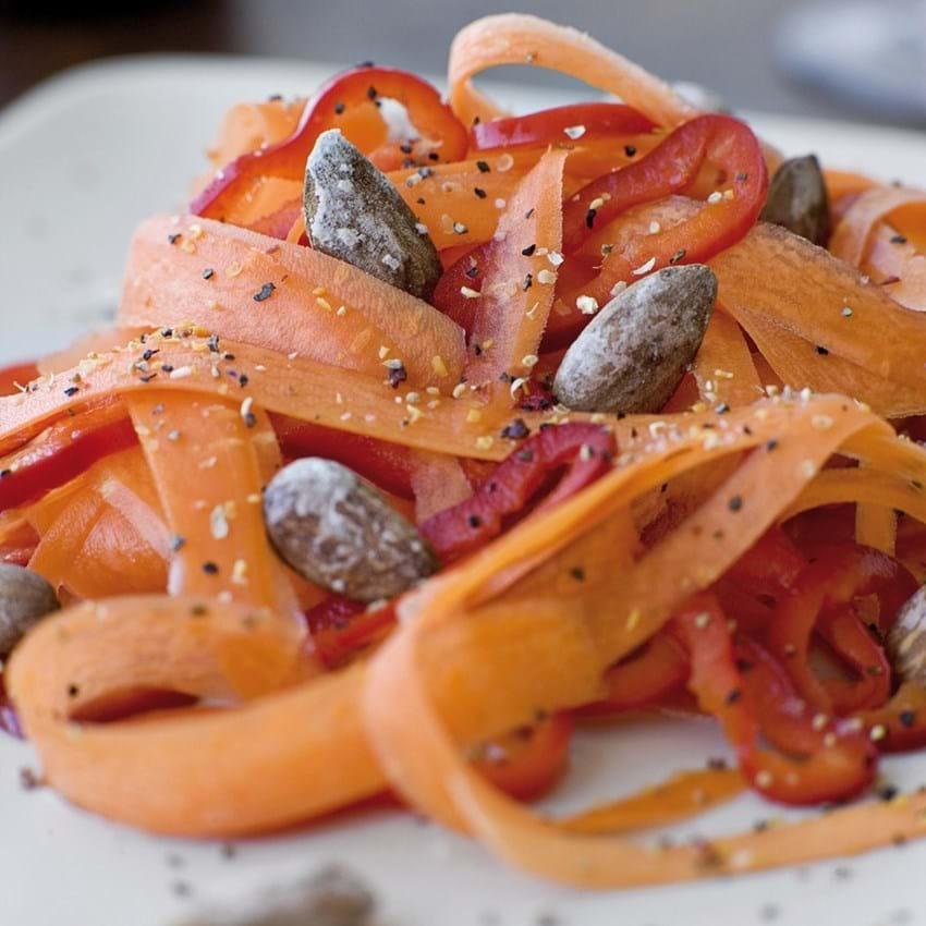 Sprød gulerodssalat
