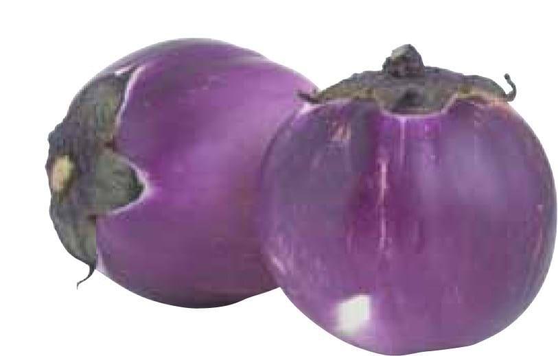 Stegt aubergine med pesto