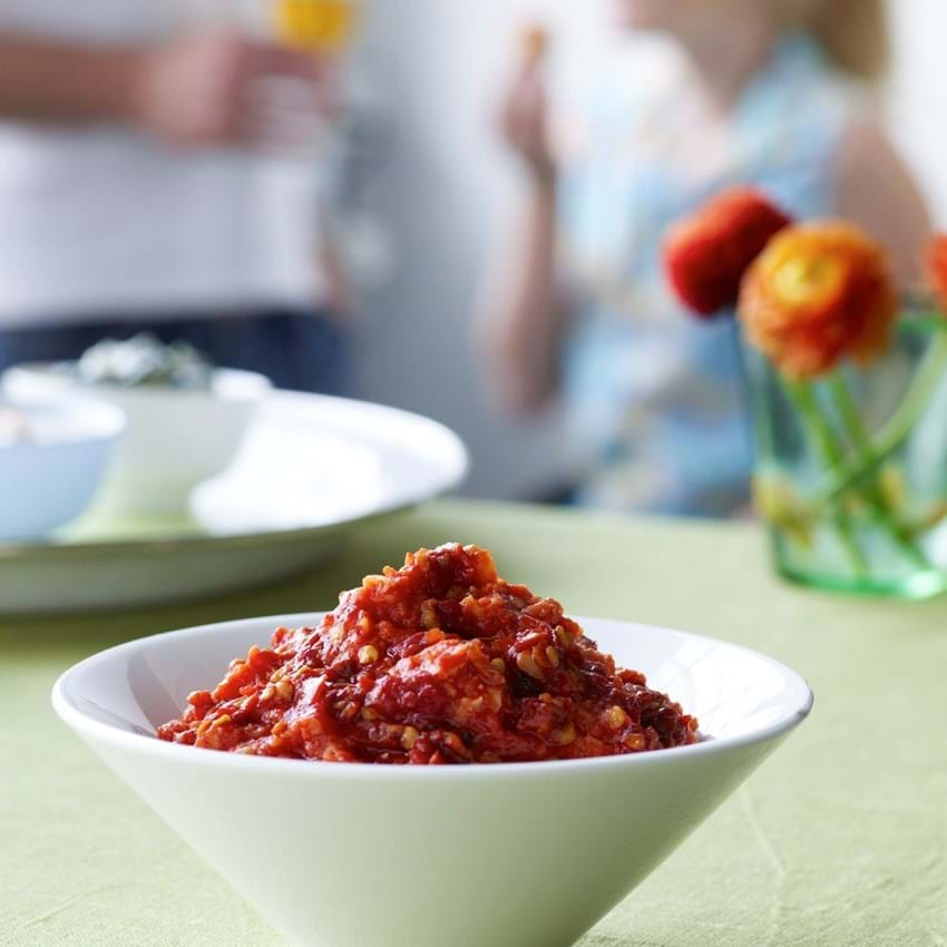 Tomat - chili dip