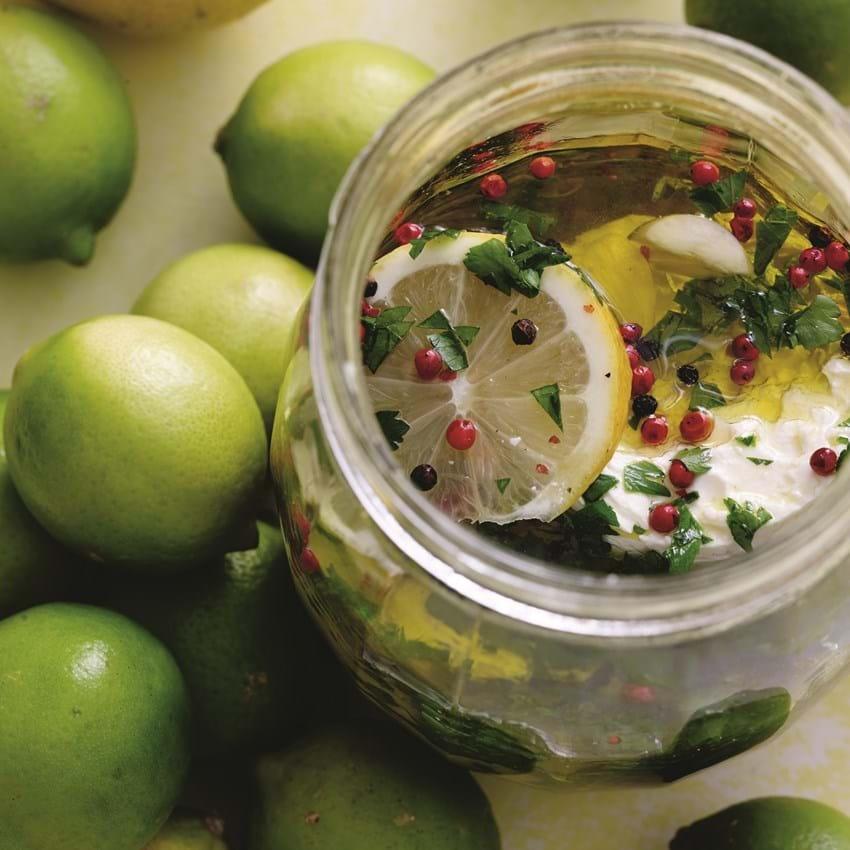 Lime- og citronmarineret fårefeta