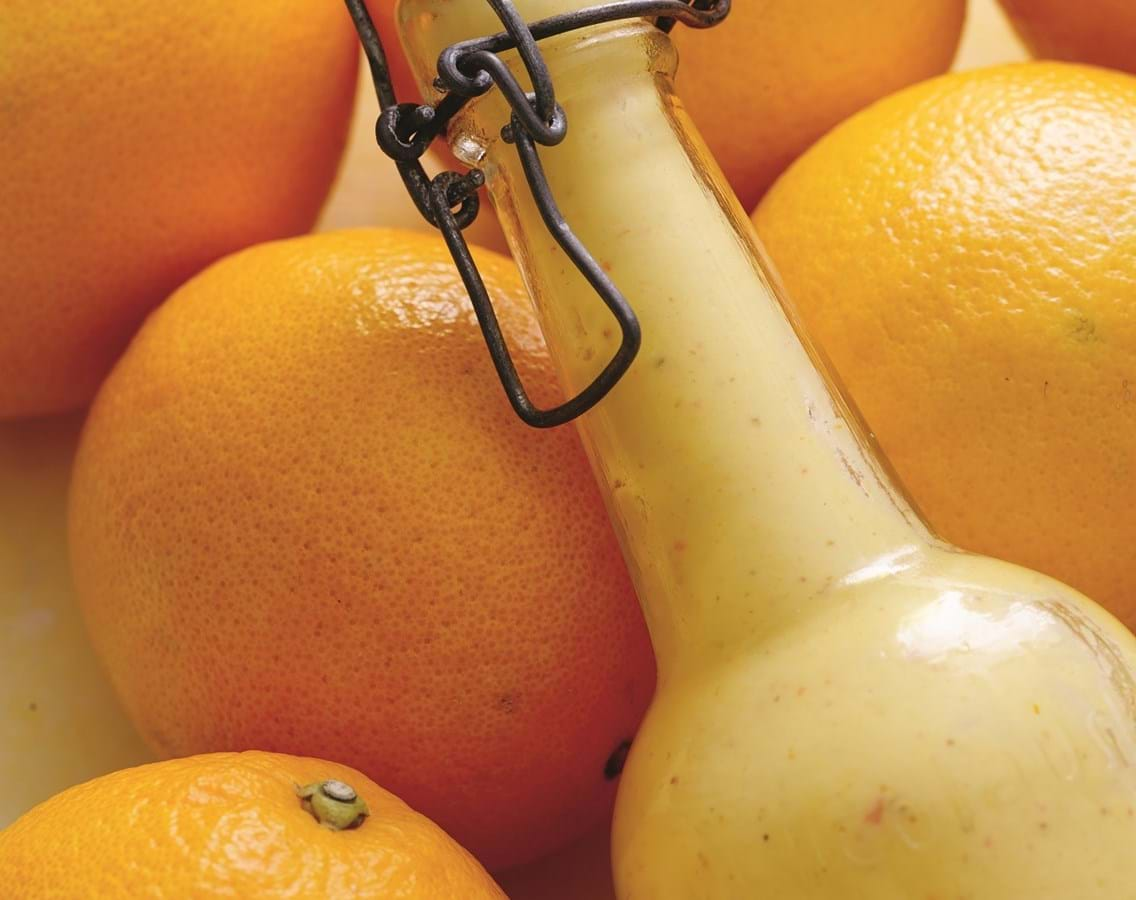 Appelsin-karrydressing