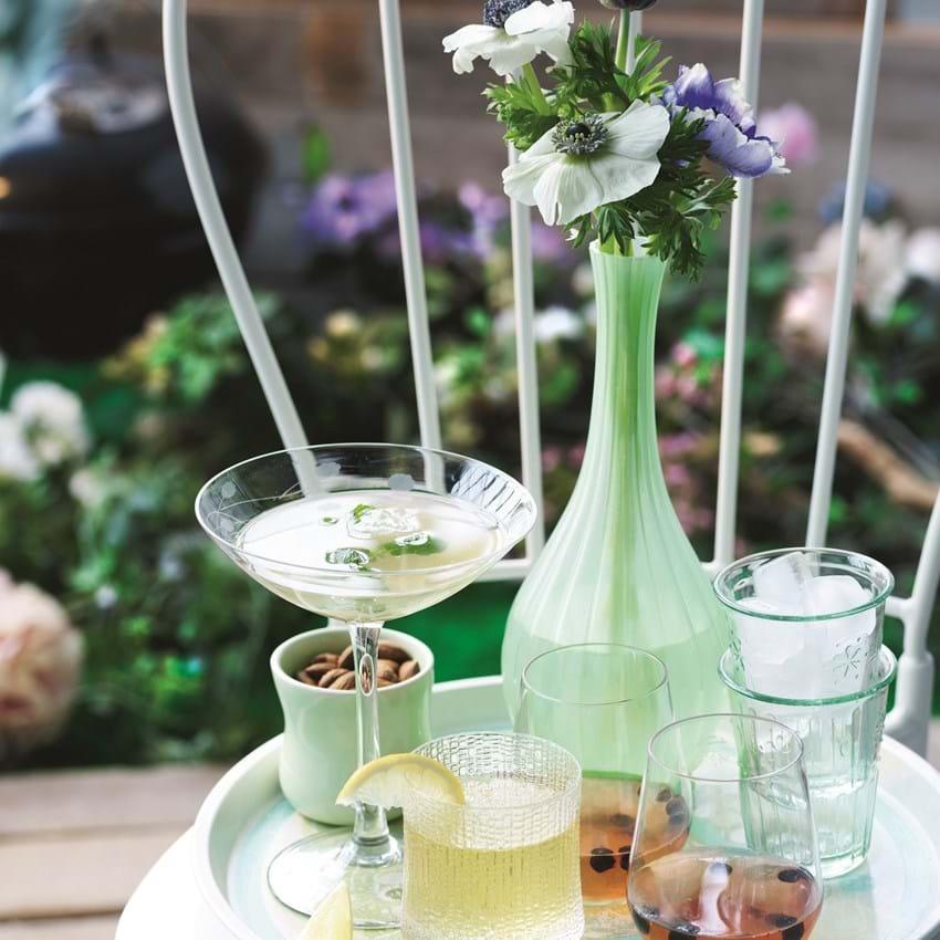 Cider krydret med vodka og citron