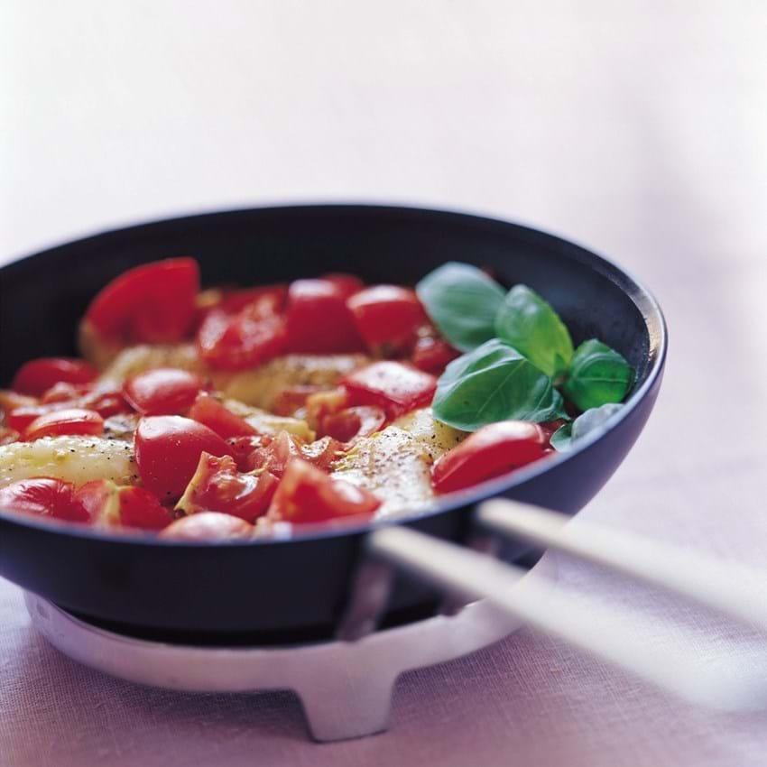 Torskefilet med tomat