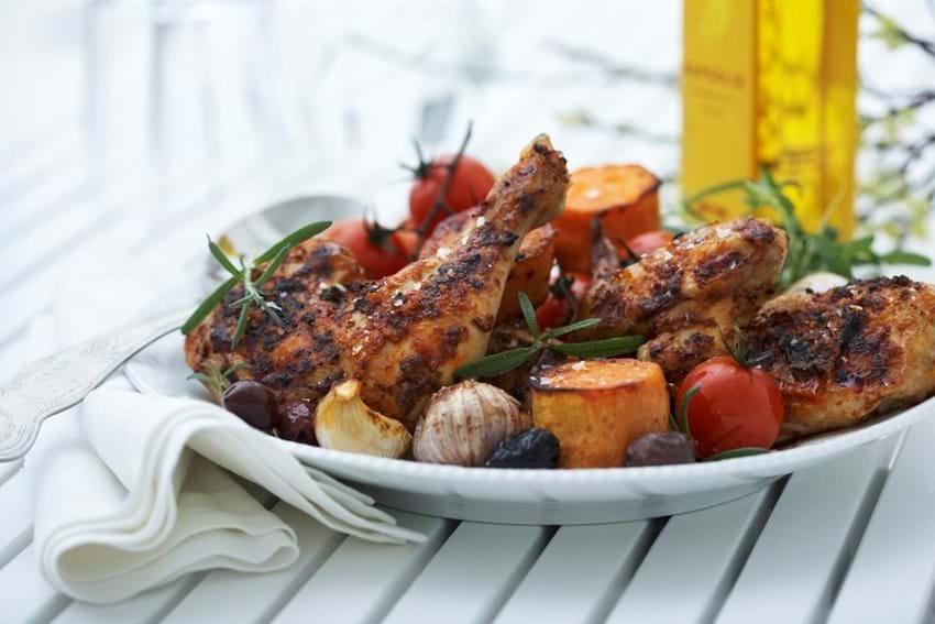 Provencalsk kyllingelår