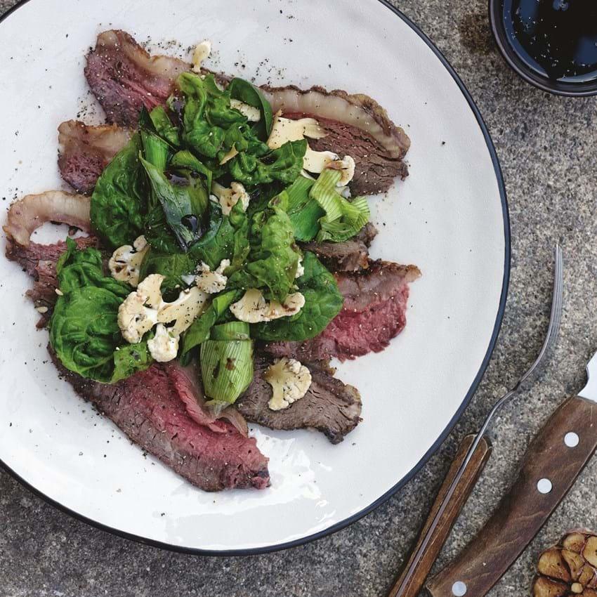 Grillet Beef-Salat