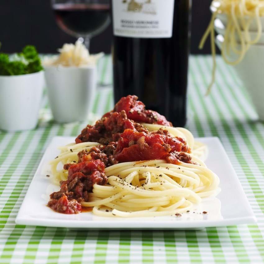 Dansk spaghetti bolognese