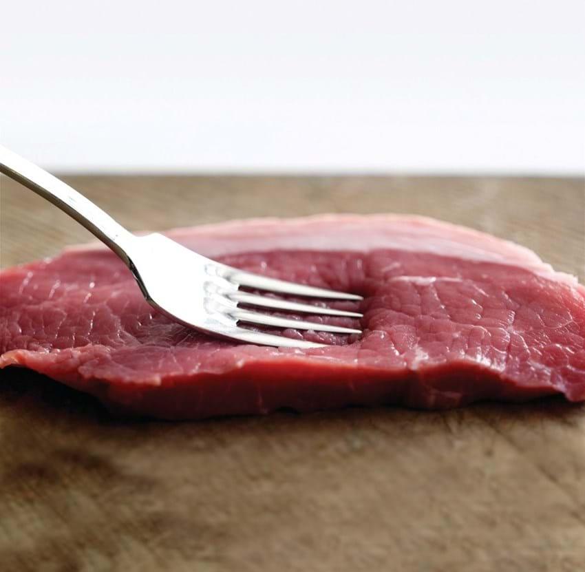 Svampefyldt steak