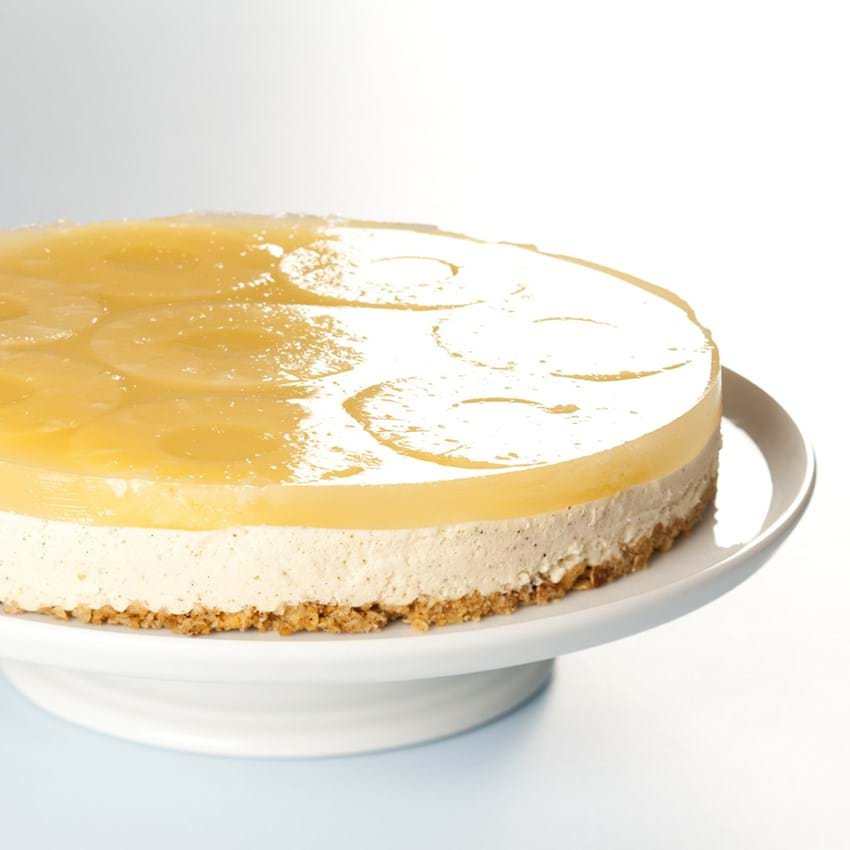 Cheesecake med ananas