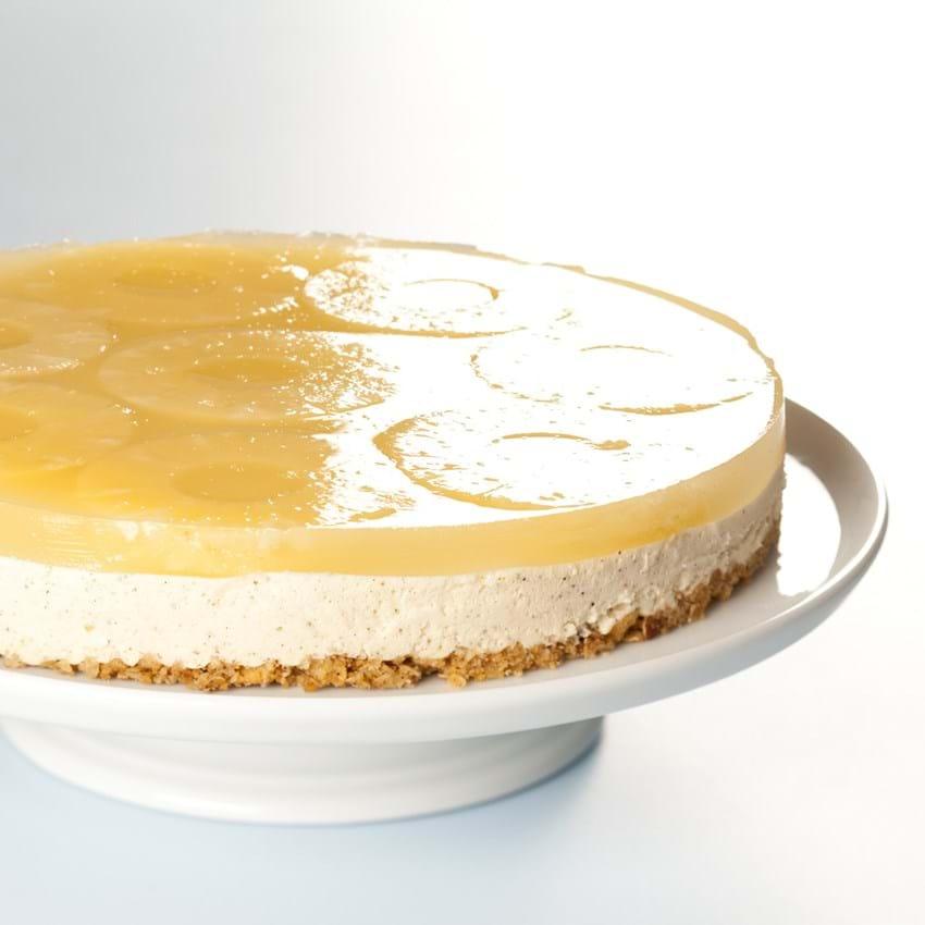Cheesecake med ananas