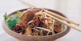 Kyllingefilet med ris, chili og forårsløg
