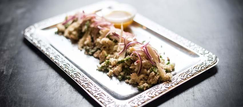 Couscous-salat af blomkål
