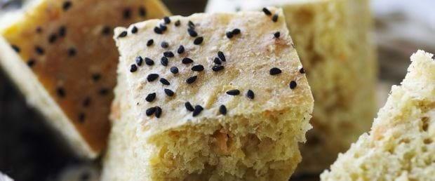 Hurtigt krydret brød til mad