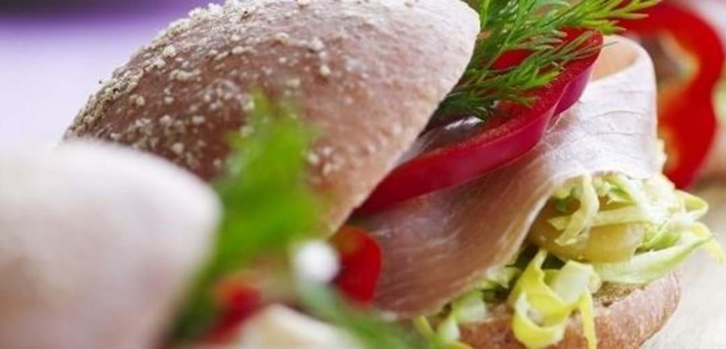 Spidskålssandwich
