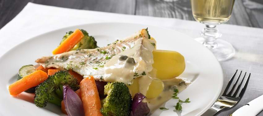 Ølmarineret torsk