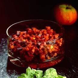Sellerisalat med rødbede og æbler
