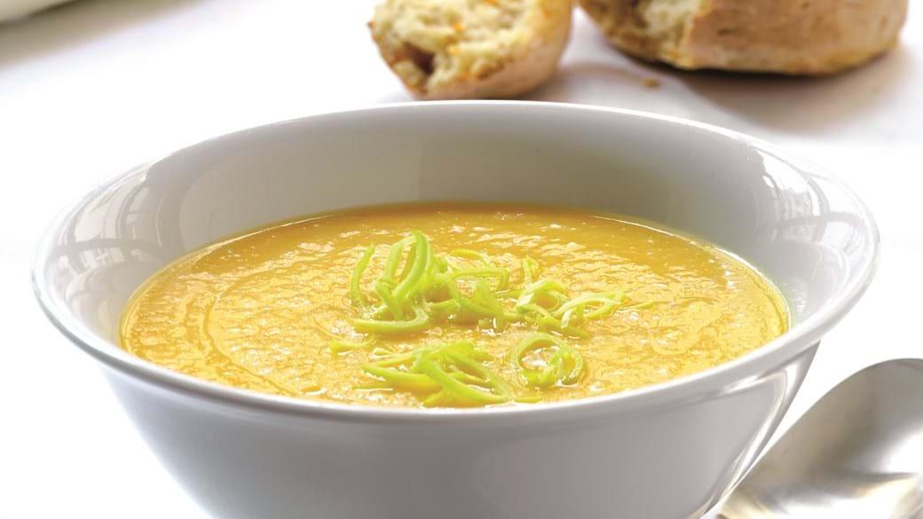 Røddernes suppe med rodfrugter