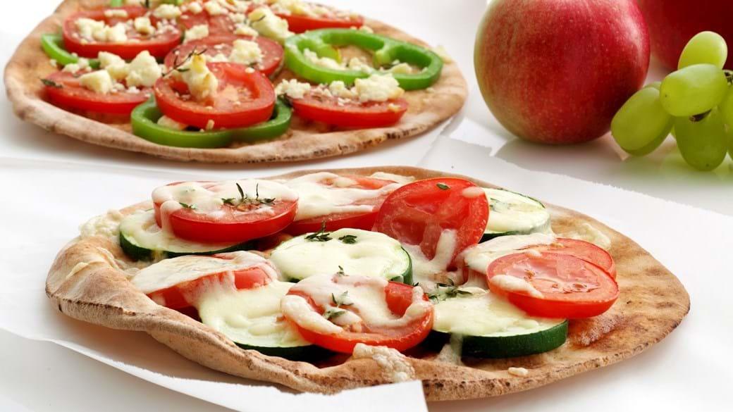 """""""Fladbrød a la pizza"""""""