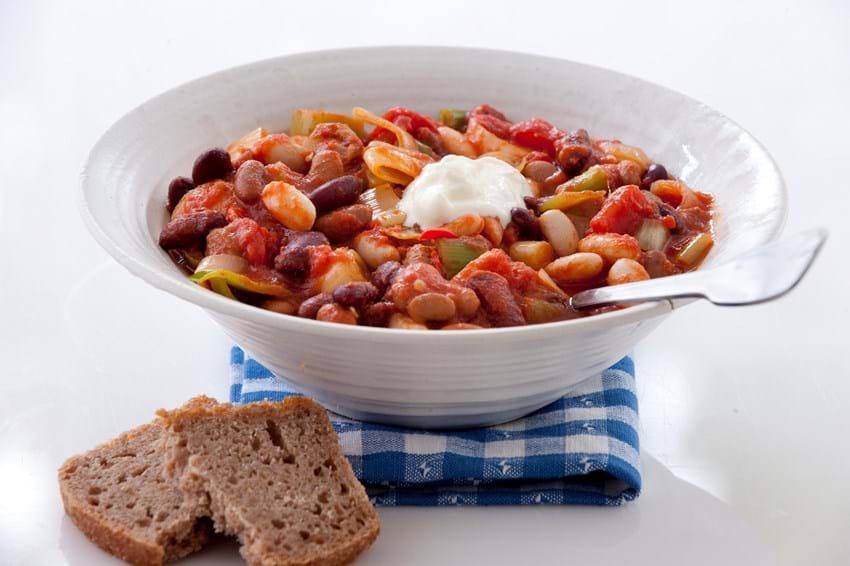 Chili Gryde Opskrift Med Bønner Og Tomat Se Her