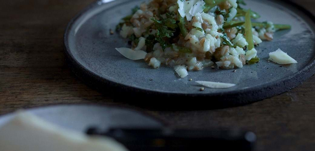 Forårsrisotto