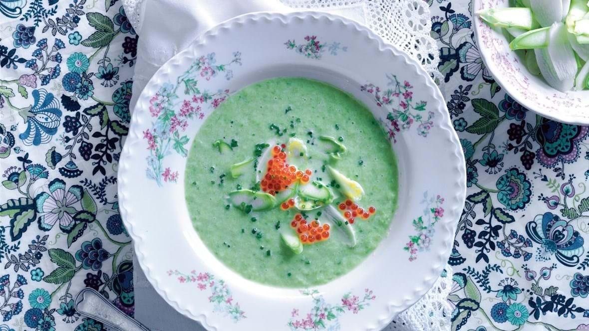Nem asparges-suppe