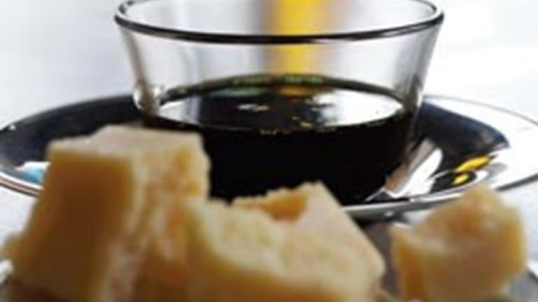 Vinaigrette til parmesanosten