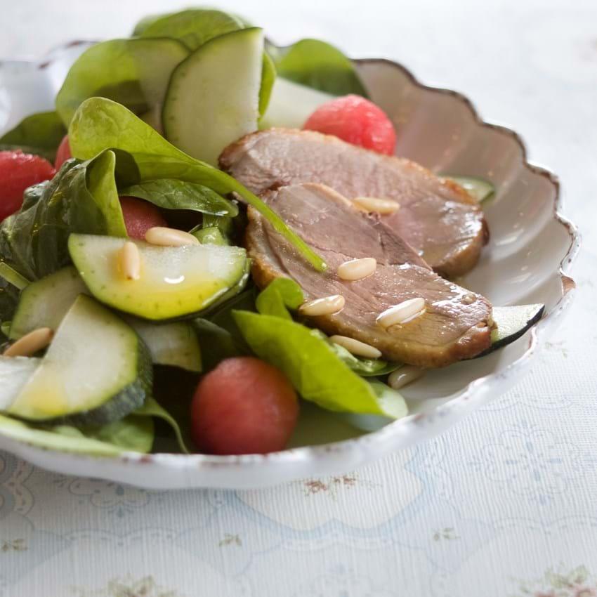 Salat med andebryst