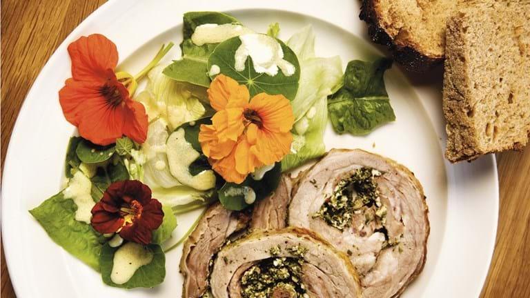 Salat med tallerkensmækkere