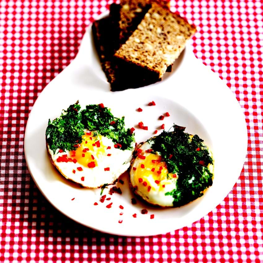 Æggemad - med det lille ekstra