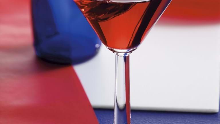 Cocktail med tranebærjuice