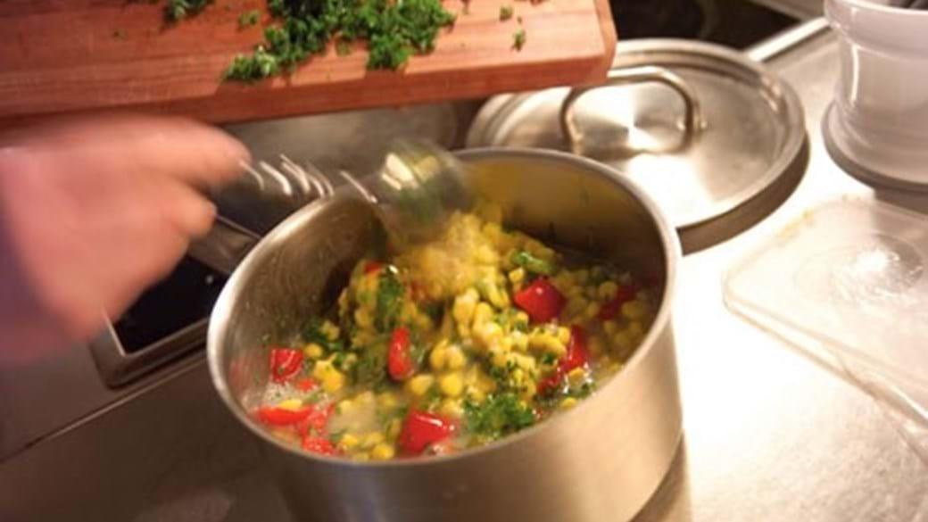 Grov pickles med peberfugt og majs