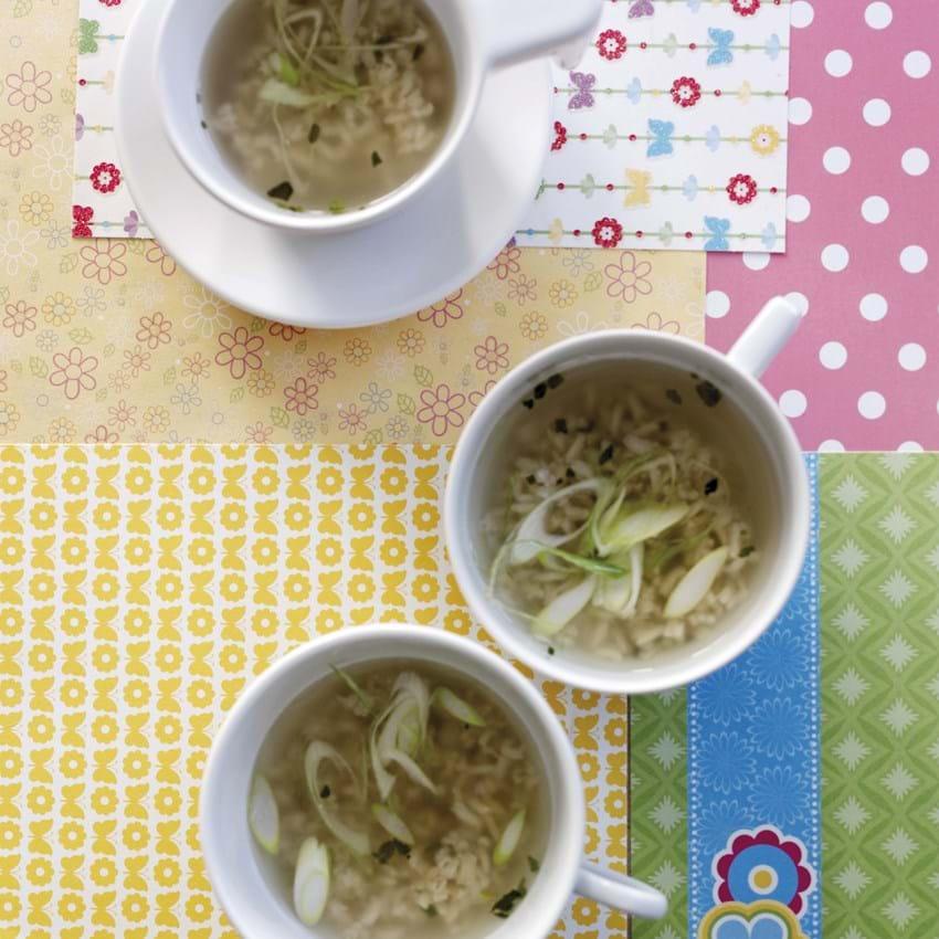 Thai-inspireret rissuppe